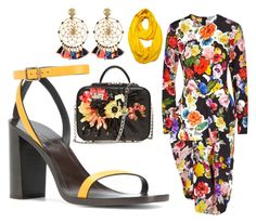 The Fashionistas CLUB by kemiakinajayi on Polyvore featuring polyvore, fashion, style, Preen, Le Nom, Yves Saint Laurent, La Perla, Gas Bijoux and clothing