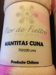 Mantitas  100% Micropolar Hipoalergénico      Producto Chileno  Elaborado por Flor de Fieltro    www.flordefieltro.cl