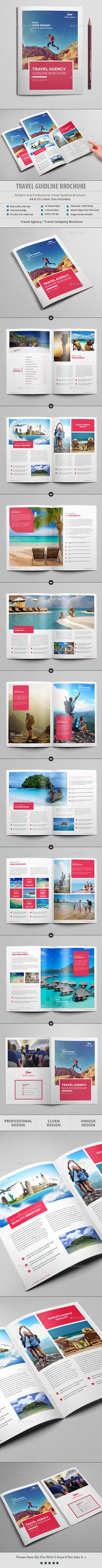 Travel Agency Brochure / Catalog Template — InDesign INDD #technology catalog #finance brochure