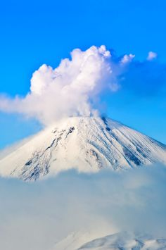 Klyuchevskaya Sopka - Kamchatka Peninsula, Russia Talk about blowing your top! This volcano, which happens to be the highest in Asia, started spewing in 1697 and erupted as recently as 2011. See all 40 volcanoes on Trippy.