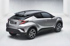 2017 Toyota C-HR: Here It Is In All Its Glory