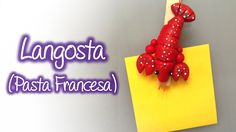 Figura de Langosta en pasta francesa / Cold porcelain Lobster figure