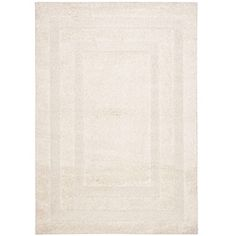 @Overstock - Give your space an easy update with this hand-woven shag rug. With a textured design of alternating high and low pile, this ivory rug has a durable cotton canvas backing and an ultra-plush feel. The neutral tone will coordinate with any existing decor.http://www.overstock.com/Home-Garden/Hand-woven-Ultimate-Cream-Shag-Rug-8-x-10/5773089/product.html?CID=214117 $311.99