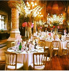 St Stephens Hall, Pond Street Hampstead in London, Greater London Wedding Centerpieces, Wedding Decorations, Table Decorations, Wedding Reception, Wedding Venues, Saint Stephen, Greater London, Ding Dong, London Wedding