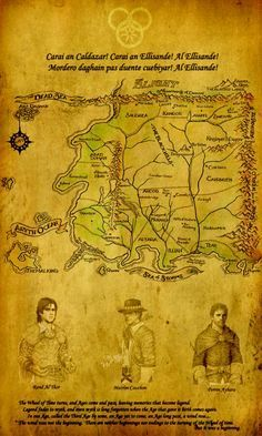 Map Wheel of Time