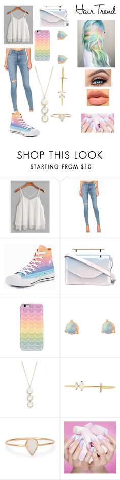 """Colorful"" by dark-ivy ❤ liked on Polyvore featuring beauty, Hudson Jeans, Converse, M2Malletier, Samsung, WWAKE, South Moon Under, Paige Novick and Catbird"