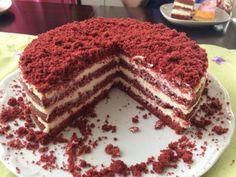 Red Velvet Recept, Tiramisu, Baking, Ethnic Recipes, Cakes, Food, Cake Makers, Bakken, Kuchen