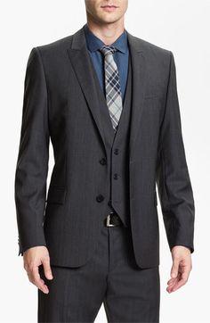 HUGO 'Abaro/Wior/Hedit' Trim Fit Three Piece Suit | Nordstrom