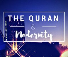 """""""Can the Quran be reinterpreted to into the current age as the Torah and the Bible have been reinterpreted?"""""""