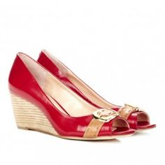 Grace wedges in red by sole society  from ILoveCuteShoes.com