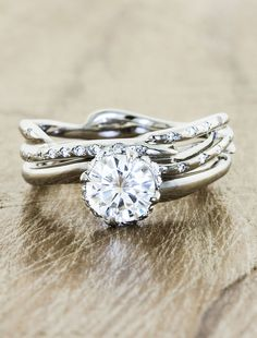 Novella... My dream engagement and wedding rings!
