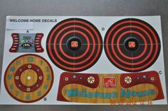 Step 2 Welcome Home Play House Kitchen Stove Top, Clock, Timer Decals, Stickers #Step2