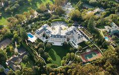the manor aaron spelling mansion - Pesquisa Google