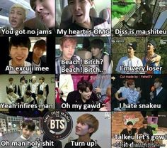 Bts English time