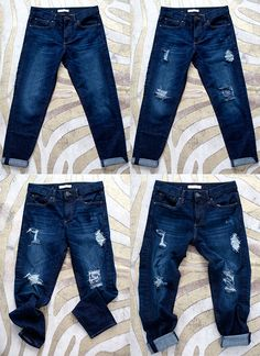 [ DIY distressed jeans ]