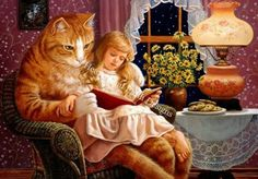 Home is Where the Cat Is -Ruth Sanderson