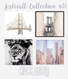 Artwall Collection #31   Sims4Luxury