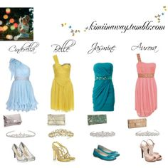One day I will have an entire closet dedicated to princess fashion. Really.