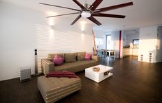 Quiet Ceiling Fans, Modern Ceiling, Man Cave Furniture, Modern Fan, Indoor, Remote, Building Ideas, Interior, Pilot