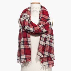 Nightglen Plaid Scarf : scarves and bandanas | Madewell