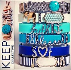 DIY Charm Jewelry. Keep Collective is a brand new company by Stella & Dot. It's a very pretty charm jewelry line and is looking for women who want to start their own work from home business. www.keep-collective.com/with/misty