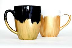 DIY dishwasher safe painted mug