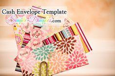 "Printable envelope templates for the ""cash envelope"" budgeting system Dave Ramsey Envelope System, Envelope Budget System, Cash Envelope System, Diy Envelope, Budget Envelopes, Money Envelopes, Paper Envelopes, Envelope Template Printable, Organizer"