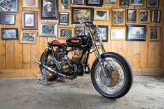 Kawasaki 500 H1 Brat Style by Roman Vuagnoux Mhc #motorcycles #bratstyle #motos   caferacerpasion.com