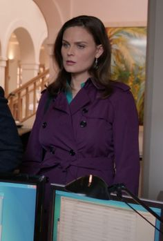 "Temperance ""Bones"" Brennan - Bones ""The Suit on Set"""
