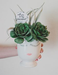 DIY Will You Be My Bridesmaid Gift // Afloral