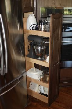 Appliance storage solved - this is my favorite out of everything i've seen