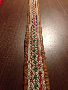 Detail of a sami belt. Folk Clothing, Lappland, Native Style, Leather Fabric, Arm Band Tattoo, Handicraft, Finland, Reindeer, Norway