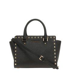 b7444e9aa13d4 Crossbody Satchel Bag mit Nieten Hochwertige und zeitlose Designs von  Designer Michael Kors - wir lieben