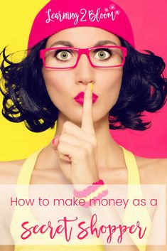 How to make money as a secret shopper. These are some companies I have worked with and you can to. It's a great way to earn some spending money in your spare time.