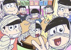 사진 설명이 없습니다. Dark Anime Guys, All Anime, Ichimatsu, Brother, Character Design, Geek Stuff, Animation, Instagram, Fandoms
