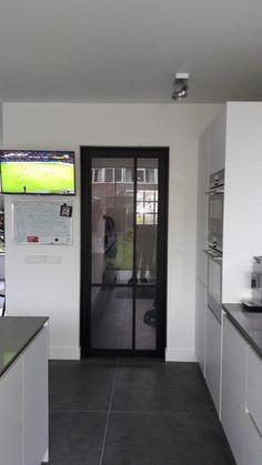 French Door Refrigerator, French Doors, Kitchen Appliances, Home, Doors, Entrance Gates, Diy Kitchen Appliances, Home Appliances, Ad Home