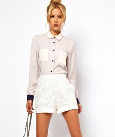 Shorts Story: 10 Prim, Lace Picks To Sweeten Up Your Wardrobe #refinery29