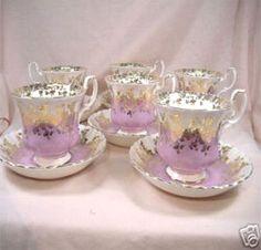 Royal Albert China Series - Regal Series Bone China Pastels Lavender