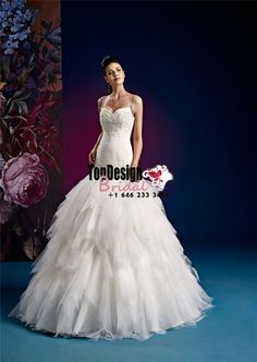 2017 Wholesale Vestido De Novia Ruched Tiers White Zipper Bridal Gown Spaghetti Straps Sweep Train Tulle Wedding Dresses