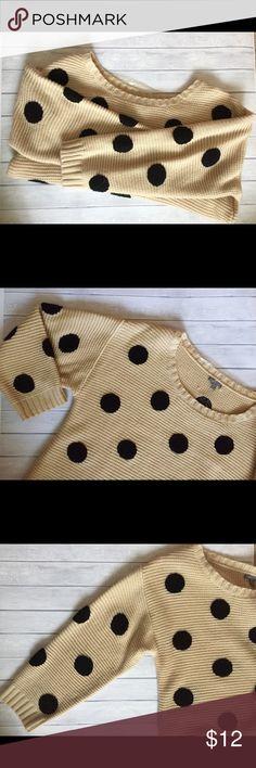 Selling this Polka dot sweater in my Poshmark closet! My username is: jessinanicole. #shopmycloset #poshmark #fashion #shopping #style #forsale #Charlotte Russe #Sweaters