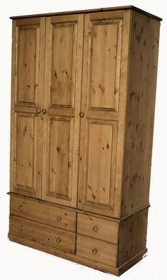 Furniture, Beautiful Bedrooms, Solid Pine Furniture, Pine Table, Pine Furniture, Home Decor, Pine, Solid Pine, Pine Wardrobe