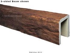 Faux Wood Beams by Barron Designs, Inc.