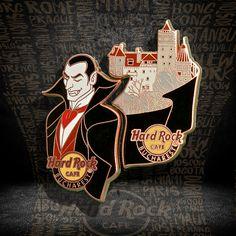 Dracula Pin Set #pins #hardrockcafebucharest