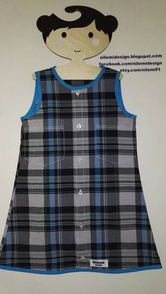 Paula Playtime-dress for recycled