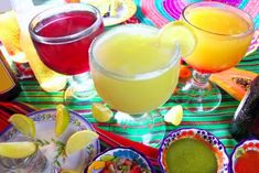 Get the taco party started with a selection of salty margaritas. Tacos and margaritas are the recipe for the best-ever fiesta, so don't. Mexican Cocktails, Beach Cocktails, Authentic Mexican Margarita Recipe, Tequila, Wedding Punch Recipes, Party Recipes, Mexican Christmas, Taco Party, Fiesta Party