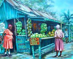 Tanties | Trinidad and Tobago in Oils | Pinterest