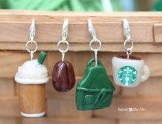 Repeat Crafter Me: Starbucks Stitch Markers and Bottled Beverages