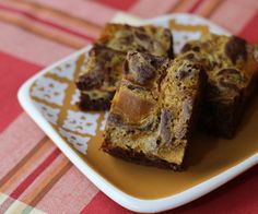 Grain Free, Paleo Friendly (with raw dairy) these pumpkin brownies are sure to please!