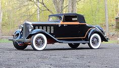 1932 Hudson 8 Coupe Roadster