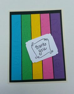 Thank You Handmade Greeting Cards by DebsDooDadsShop on Etsy